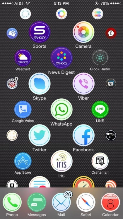 Aeternum Apple Watch Theme for iPhone Review